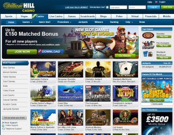 online william hill casino sizzling hot play