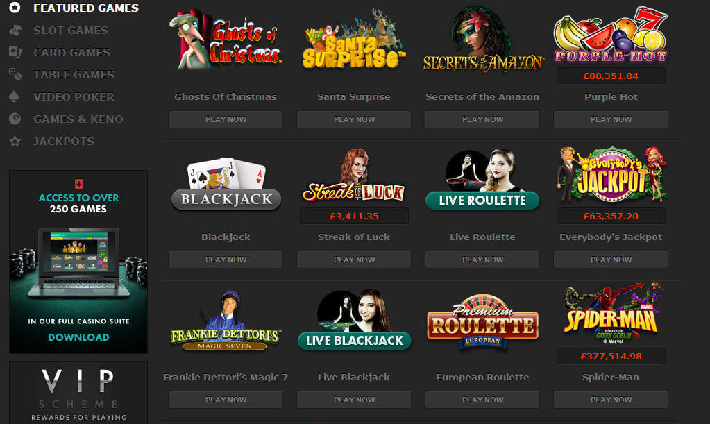 uk online slot casino