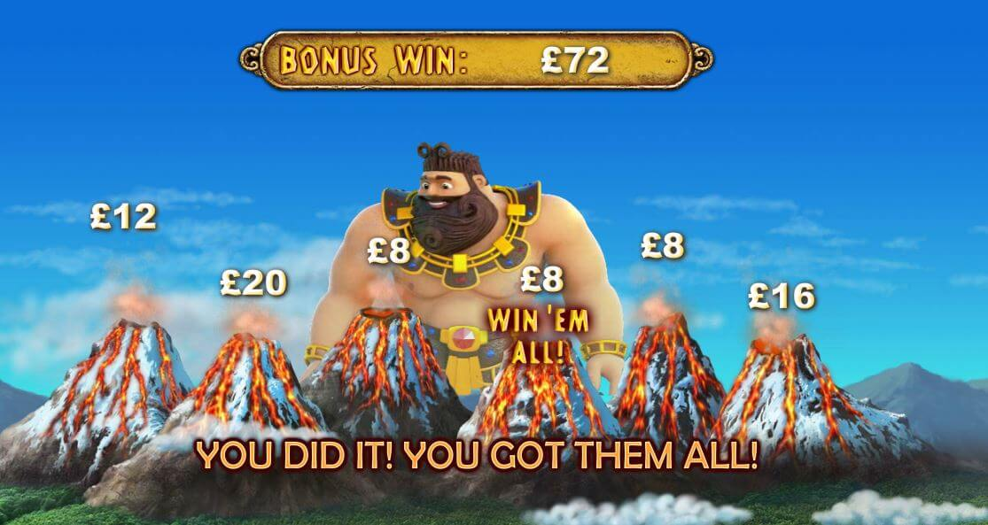 bonus win