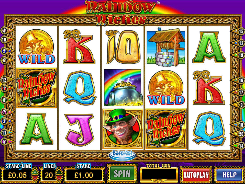 rainbow riches slot game online