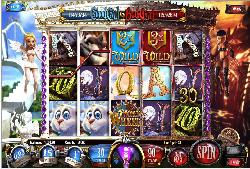 Good Girl Bad Girl Slot - Play Now with No Downloads