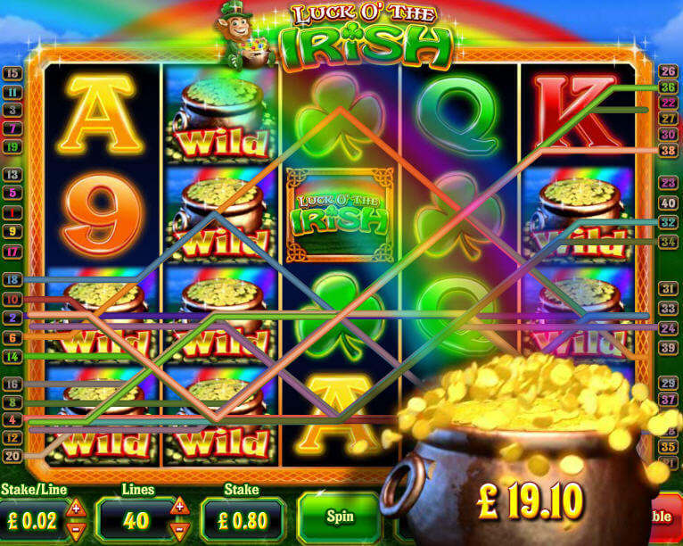 Play Irish Luck Scratch at Casino.com UK