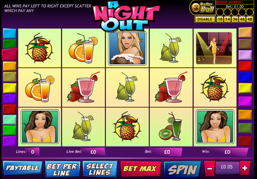 Night out slots