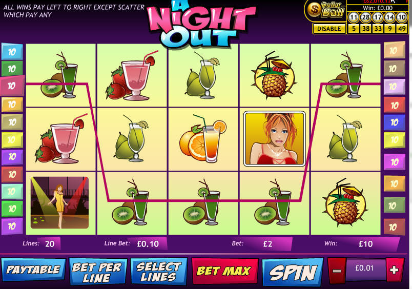 Play A Night Out Slots Online