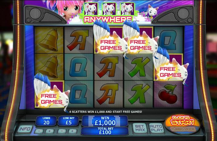 magical stacks slot bonus