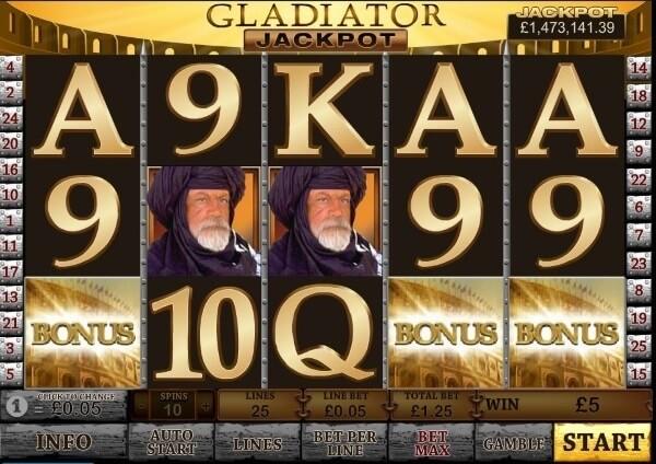 gladiator coloseum bonus