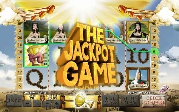 Monty Python Spamalot slot jackpot