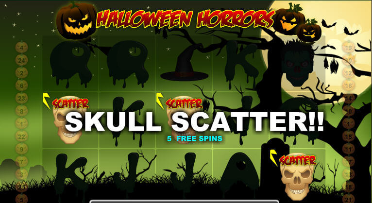 Halloween Horrors Free Spins