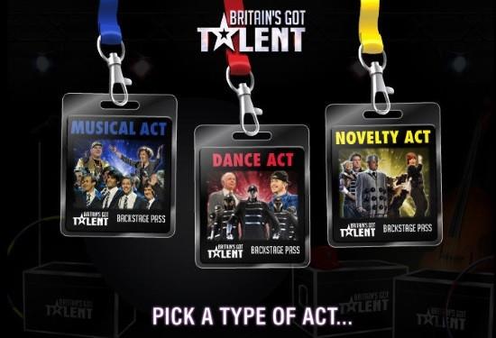 Britain's Got Talent Slot Game Bonus Round