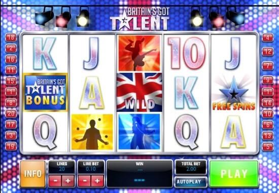 Britain's Got Talent Slot Game