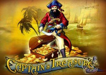 Captain's Treasure Slot machine