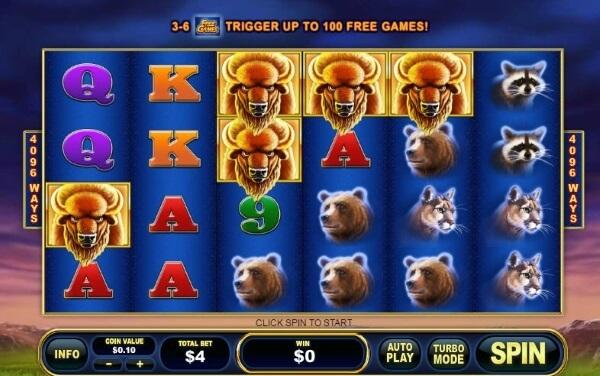 Buffalo Blitz slot game online