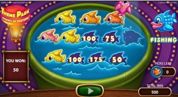 fishing game feature