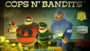 Cops N' Bandits Slot Game
