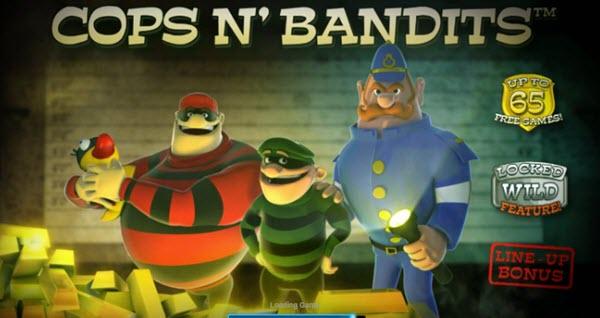 Cops N' Bandits Slot Game