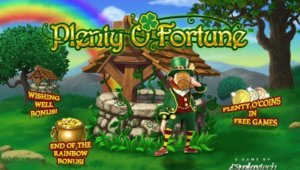 Plenty O'Fortune slot game
