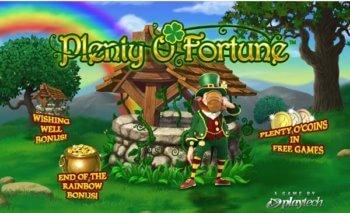 Plenty O'Fortune slot game