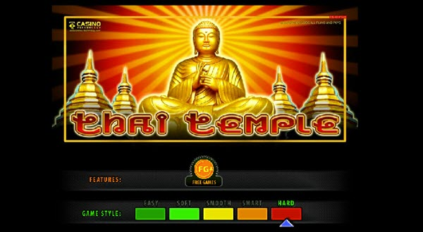 Thai Temple slot game