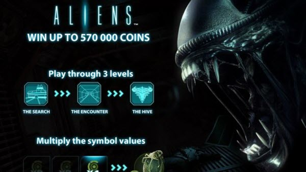 Aliens Slot Game