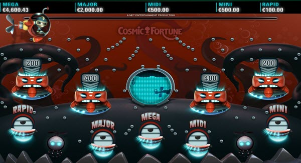 Jackpots Games of cosmic fortune slot game