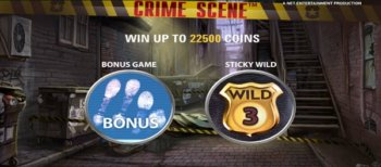 Crime Scene slot game