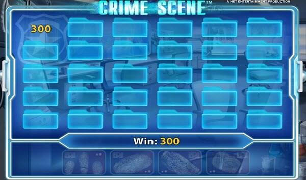 Crime Scene Bonus round