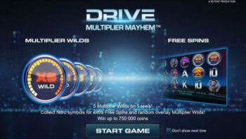 Drive Multiplier Mayhem slot game