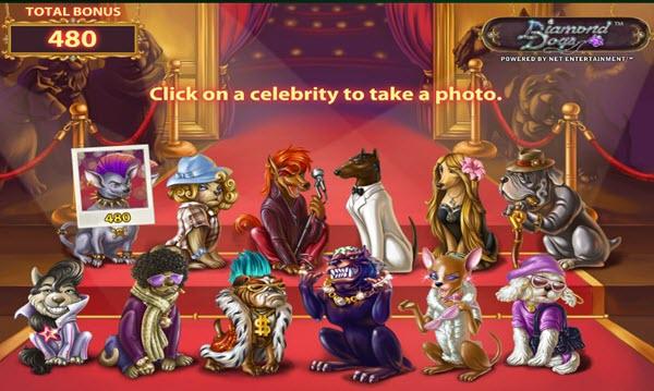 Celebrity Bonus Game