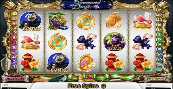 free spins of diamond dogs
