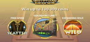 Egyptian Heroes slot game