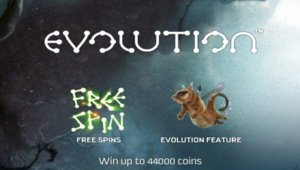 Evolution slot game