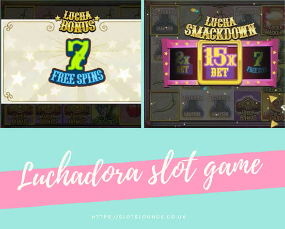 bonus feeatures of luchadora slot game