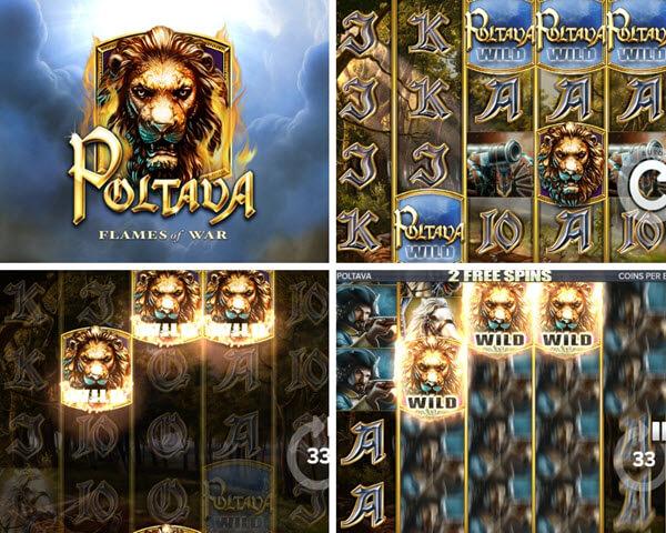 Poltava-Flames Of War Slot Game elk studios slots