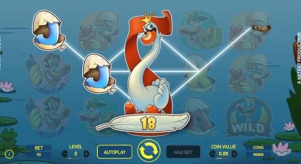 wild symbol of scruffy duck slot game