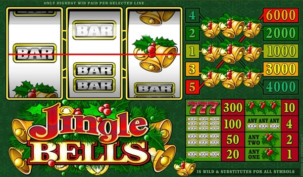 wild symbol of jingle bells slot game