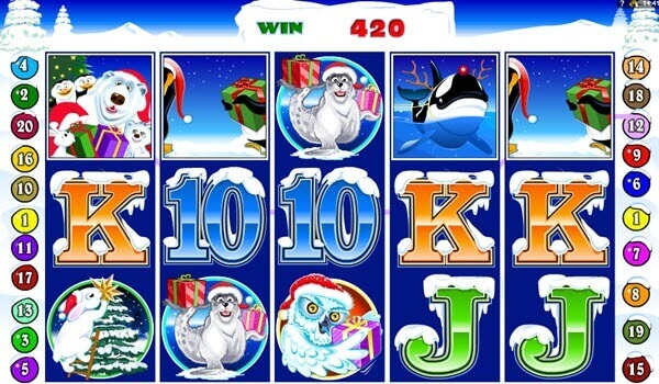 wild symbol of Santa Paws Slot Game