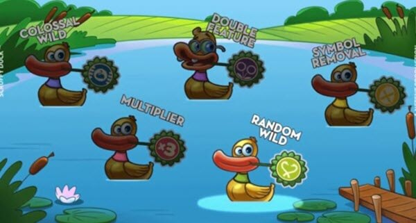 free spins of scruffy duck slot game