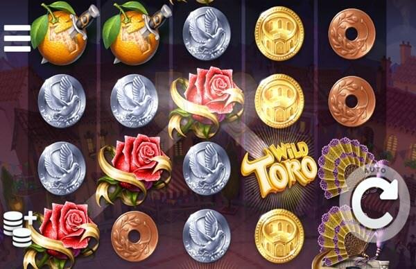 wild symbol of wild toro slot game