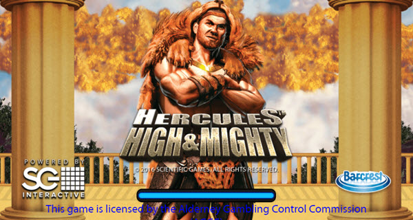 Experience the strength of Hercules High & Mighty slot