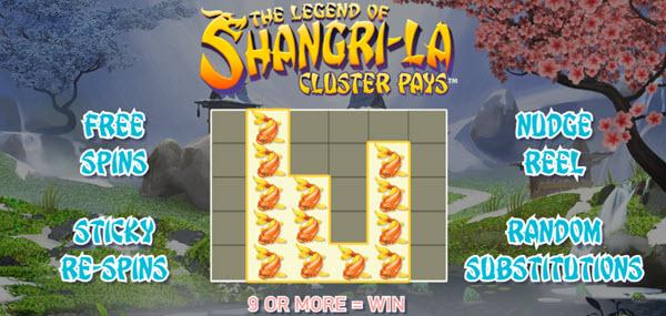 The Legend of Shangri Laslot game