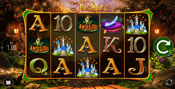 wild symbol of wish upon a jackpot slot game