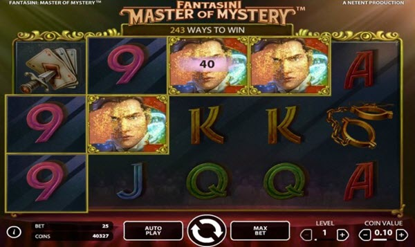 wild symbol of Fantasini Master of Mystery slot game