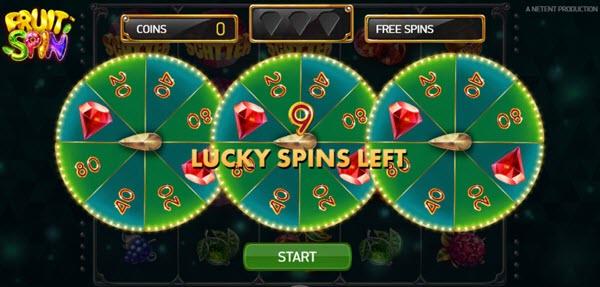 Lucky Wheels bonus round
