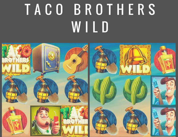 wild symbol of taco brothers slot game