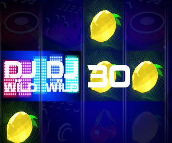 wild symbol of Dj wild slot game