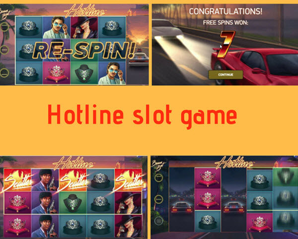 features of hotline slot game