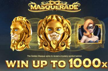 Masquerade slot game