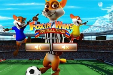 Foxin Wins Football Fever slot game by NextGen Gaming