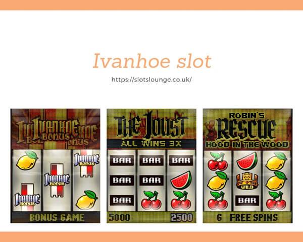 features of Ivanhoe slot